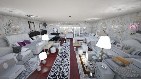 furniture exhibition - Living room - by Evgeniya Levchenko