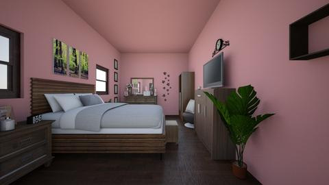 Pretty in Pink  - Bedroom - by browniebombshell
