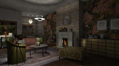 blushing - Feminine - Living room - by jjannnii