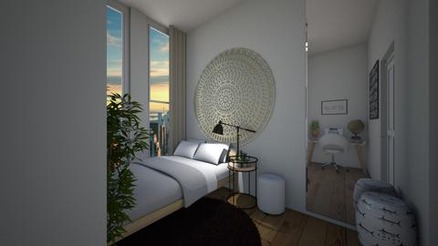 small space - Modern - Bedroom - by tappatron
