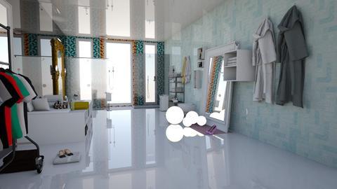 Bathroom 1  - Modern - Bathroom - by AngieDrws