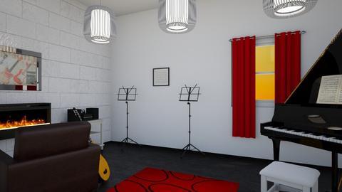 Music Room - Modern - by kyramargarete19