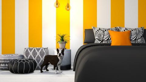 Dreaming of Orange - Bedroom - by millerfam