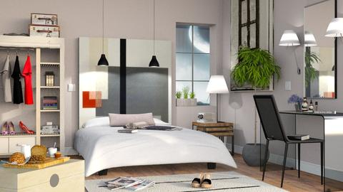 Bedroom Mural - Bedroom - by Sally Simpson