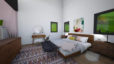 Studio Apartment room - Bedroom - by pandabearjames