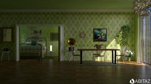 Green D I N I N G - by DMLights-user-2134665