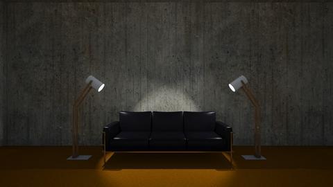 Brutalist Set - Living room - by RHD