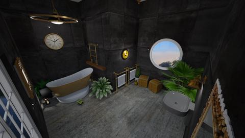 bathroom - by Lady Twinkletoes