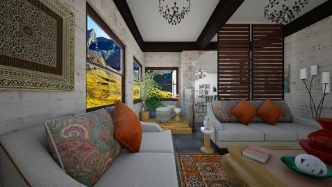 Cult1 - Global - Living room - by Violeta Sordo
