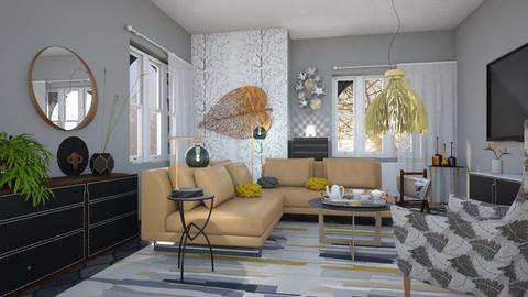 M_ Fidelio - Living room - by milyca8