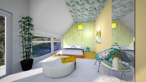 Playful Bedroom - Bedroom - by heyfeyt