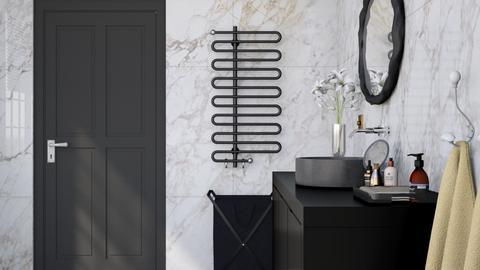 Marbled Bathroom - Modern - Bathroom - by HenkRetro1960
