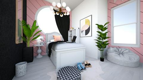 PrettyNPink - Bedroom - by Lei_