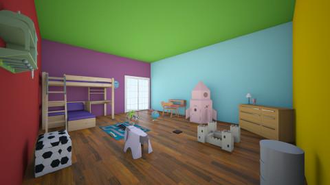 colors of kids - Country - Kids room - by kommi0103