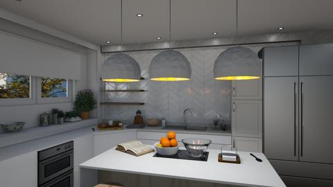 1038 - Modern - Kitchen - by Riki Bahar Elbaz