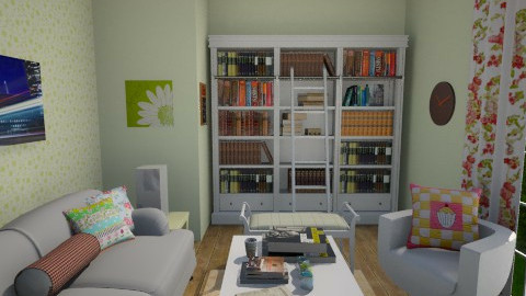 Book Love - Living room - by Amyy