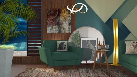 M_ Chill - Living room - by milyca8