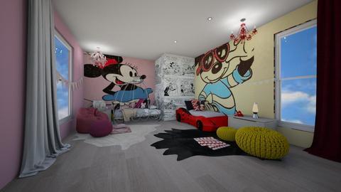 Disney Loft - Bedroom - by kristina_bina