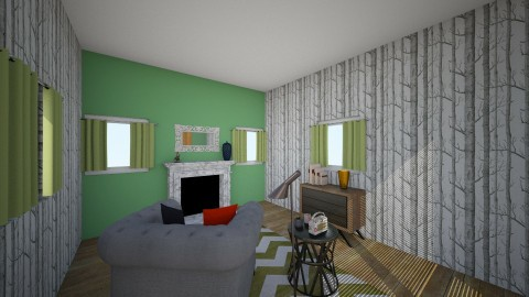secret room - Modern - Living room - by bov