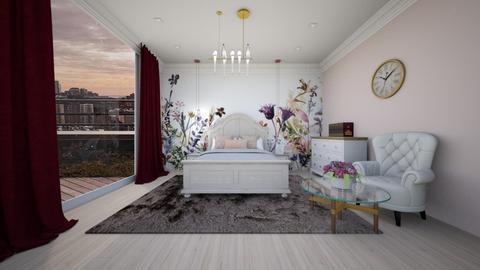 dormitor 1 - Bedroom - by magdasmo