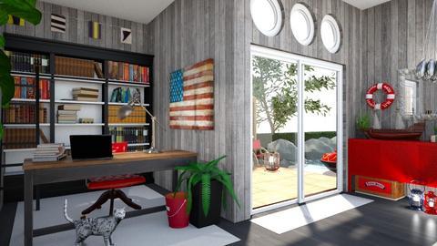 Nautical Office - Office - by amyskouson