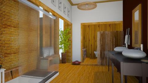 Bamboo Bathroom - Eclectic - Bathroom - by giulygi