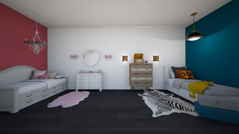 Dorm - Bedroom - by REGINA100