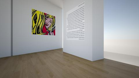 Roy Lichtenstein Exhibit - by nsanten
