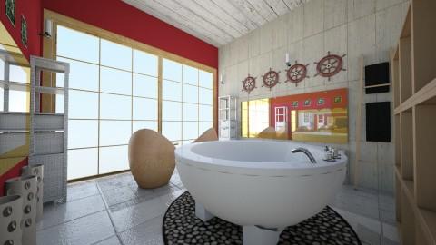Douche 5 - Glamour - Bathroom - by Mah003