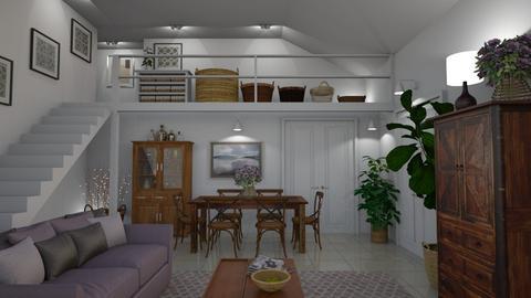 Baskets - Living room - by GraceKathryn