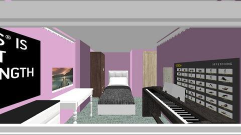 bedroom - Modern - Bedroom - by msxoxm