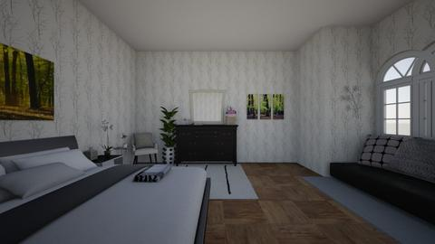 modern bedroom - Modern - Bedroom - by hunszobamaker