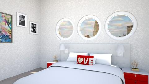 g - Bedroom - by algeria16