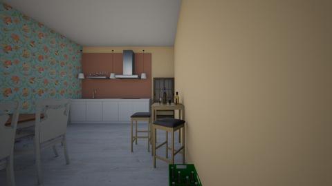 Girls night - Modern - Dining room - by Brekyn Berg