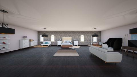 1st try - Modern - Bedroom - by Fabi__01