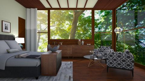 Wooden  - Bedroom - by mashusirjak