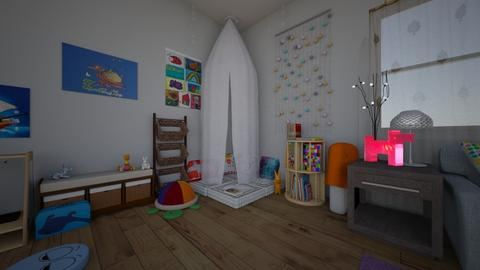 Play Therapy Room - Office - by mittenkitten