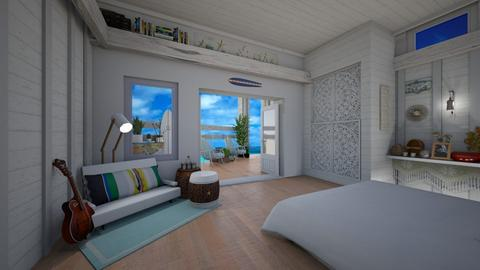 Surf Culture Bedroom - Bedroom - by ElleP