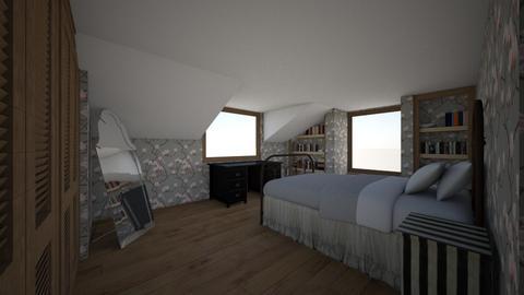 l - Bedroom - by melcampusano