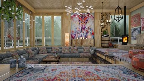 bohemian - Modern - Living room - by Ida Dzanovic