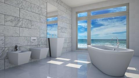 Marble Bathroom - by Valentinapenta