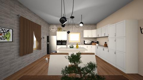 Homely Kitchen - Kitchen - by ashazel99