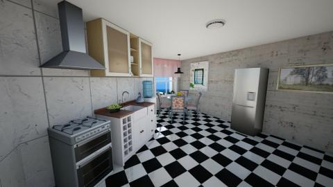 Cozinha Enviesada - Minimal - Kitchen - by Mariesse Paim
