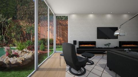 Patio Doors 2 - Living room - by GraceKathryn
