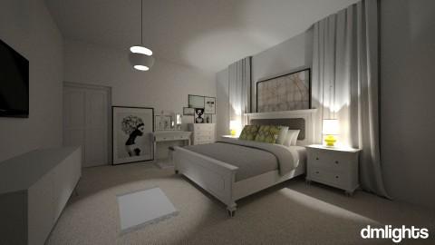 MINIMAL MODERN BEDROOM - Minimal - Bedroom - by DMLights-user-1593471