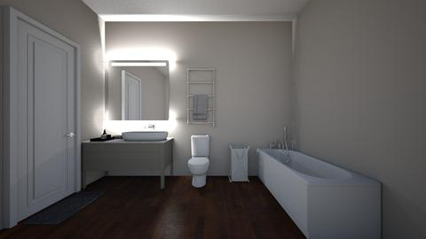 bathroom for new house - Bathroom - by natliner