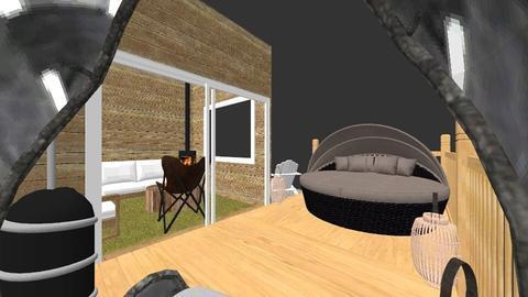 cabin - Garden - by judi rogers