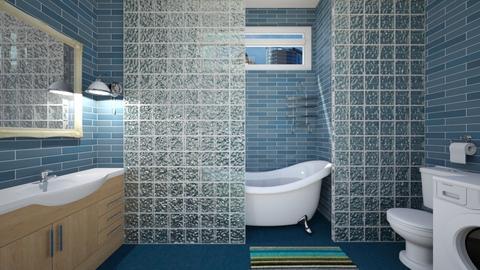 Apartment Bathroom - Bathroom - by SammyJPili