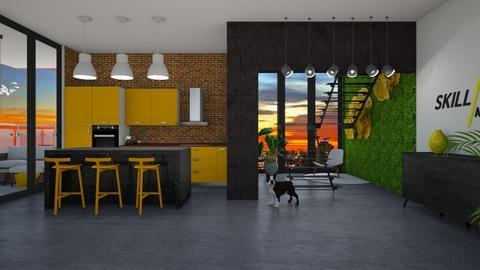 Mid Century Kitchen - Kitchen - by LiveItUp