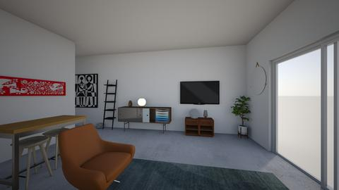 Living Room Wall - Living room - by peanno